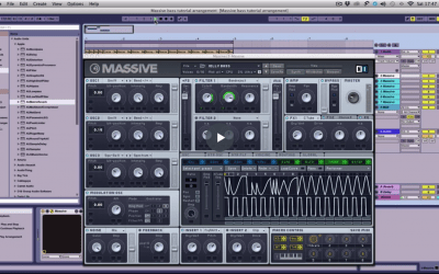 Making A Synth Bass Patch: NI Massive
