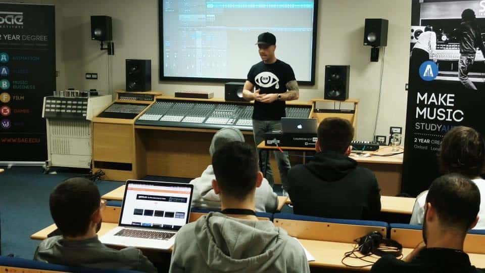 Mentoring for music production