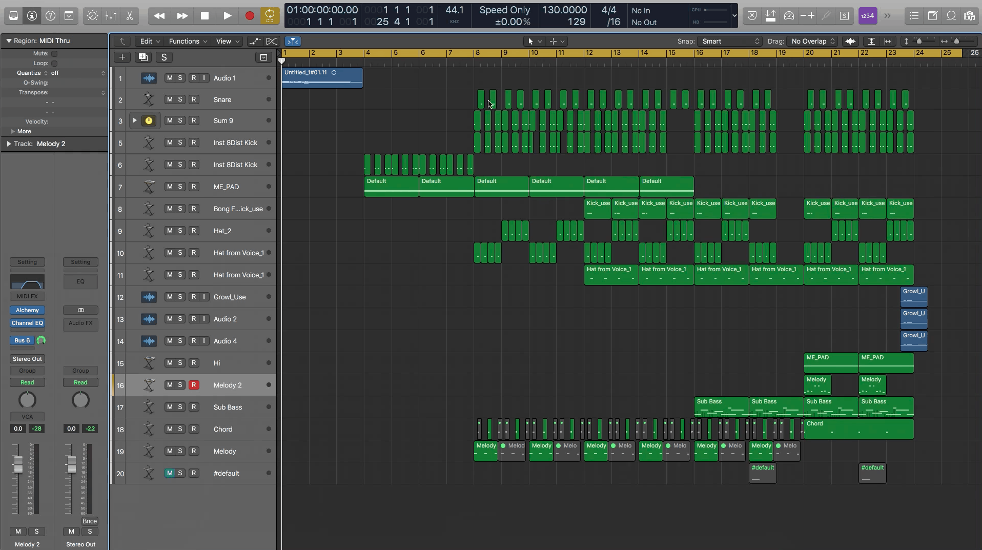 Sound Design: An Entire Track Created W/ Nomine's Voice