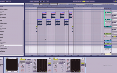 Sidechain Compression: Ableton