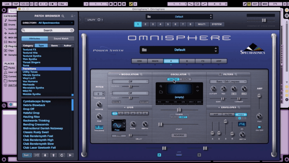 Any DAW Granular Synthesis With Omnisphere 2 By Nurve