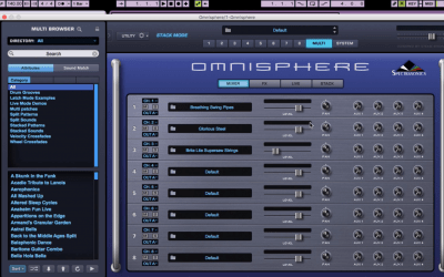 Any DAW Stack Mode Tutorial With Omnisphere 2 By Nurve