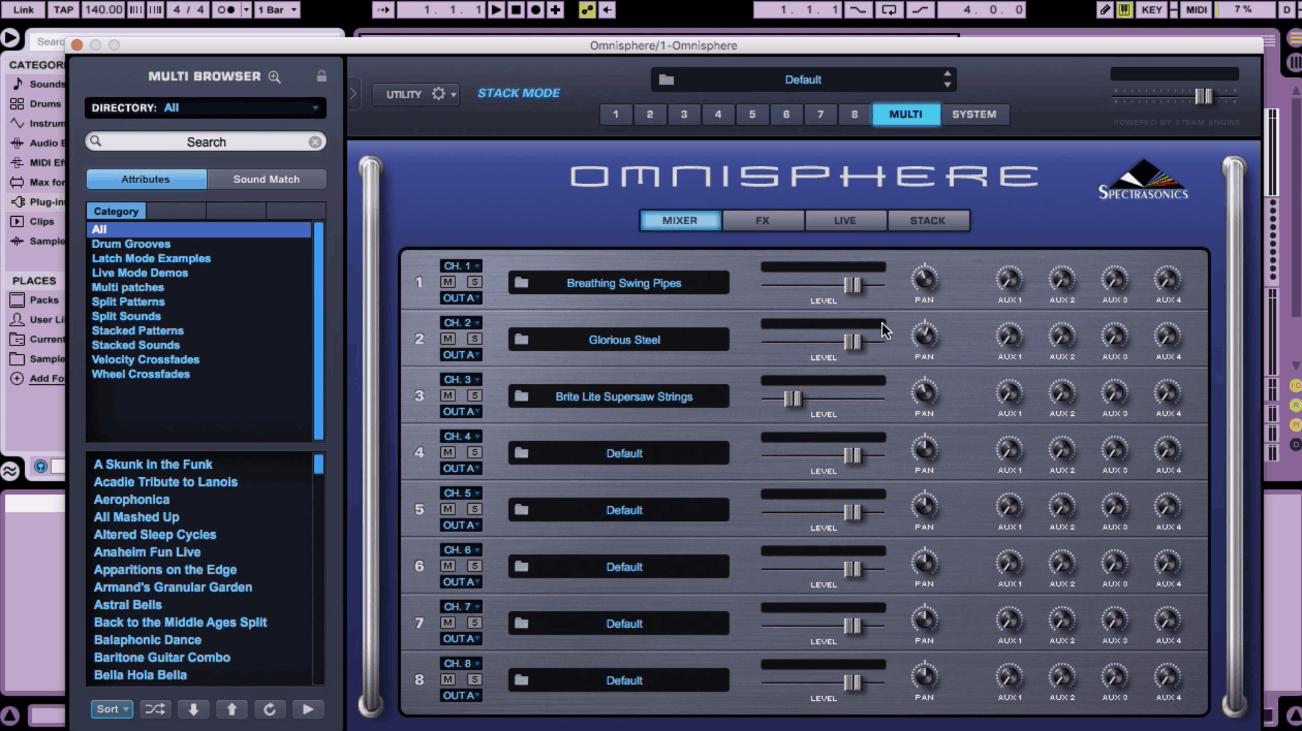 Stack Mode: Omnisphere 2 - Education & Bass