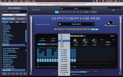 Any DAW Arpeggio Tutorial With Omnisphere 2 with Nurve