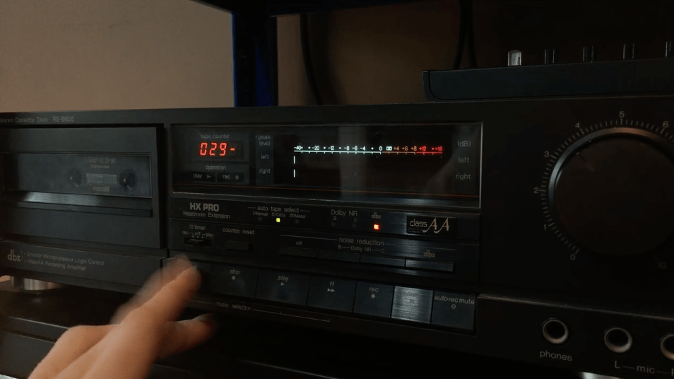 Effects – Recording To Cassette