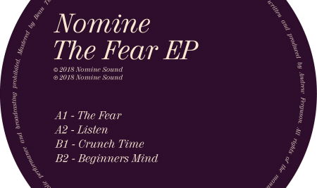 NS008 : Nomine / The Fear EP / OUT NOW!
