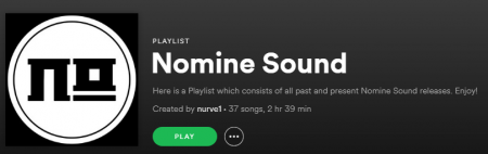 Nomine Sound Spotify Playlist
