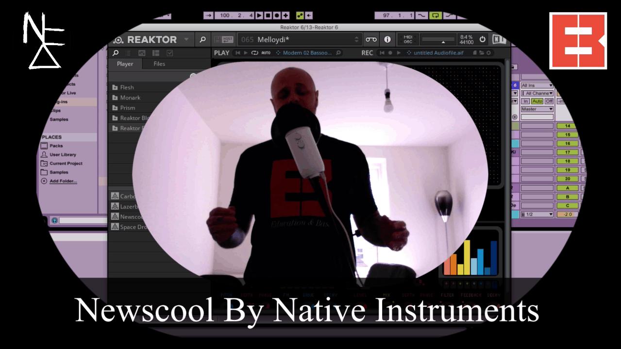Creating Percussion: NI Newscool