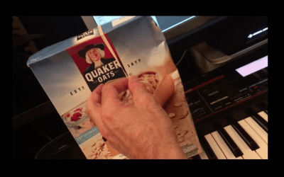 Creating A House Track Using A Cereal Box
