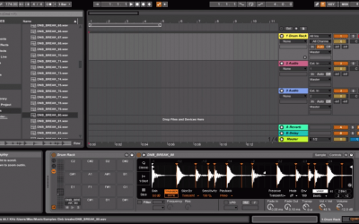 Chopping Up Jungle Breaks: Ableton Drum Rack