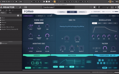 Synth Bass Processing | Ni Form | Virus Ti | Audio | Ableton Sampler