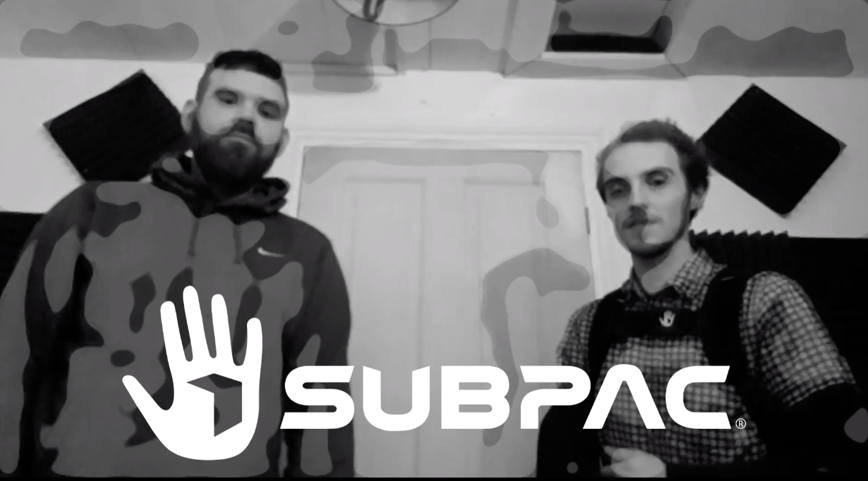 SubPac (M2X) Demonstration By LSN: Making A Bass For Your Track