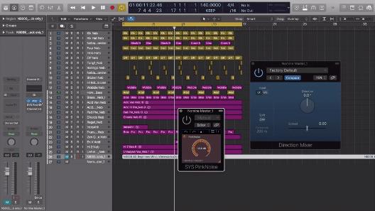 Mixdown: The 'Pink Noise' Technique