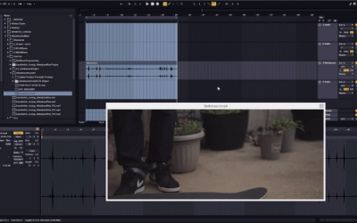 Importing MP4s Into Ableton | Making Drums With A Skateboard