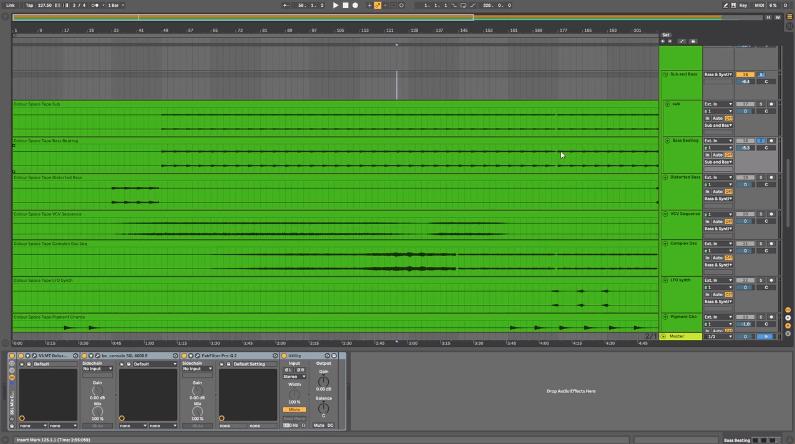 Phasing Bass Sound
